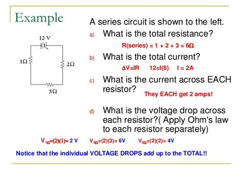 why voltage drops across resistor voltage drop across a resistor 28 images why should the voltage drops across the resistors