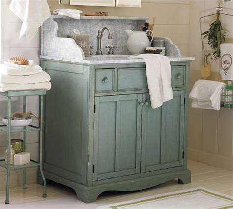 single sink consoles bathroom lucca high backsplash single sink console blue pottery