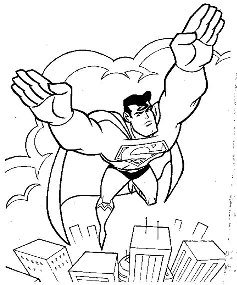 superman coloring pages games free printable superman coloring pages for kids