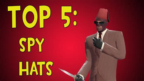best spyware tf2 top 5 hats