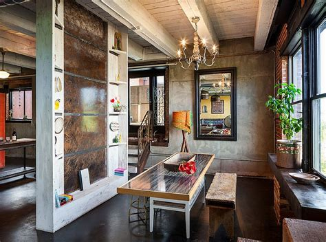 30 ways to create a trendy industrial dining room