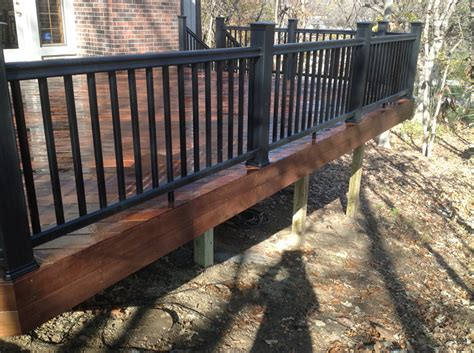 Switching out a lenexa ks cedar deck for ipe archadeck