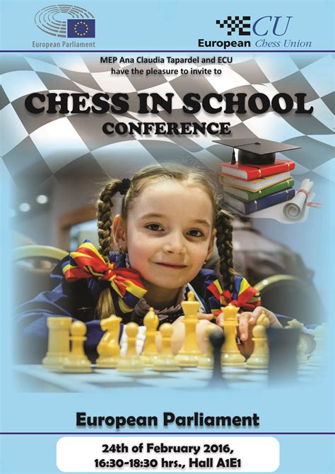 Release Letter Ecu Chess In School Conference In Brussels Press Release 171 Ecu