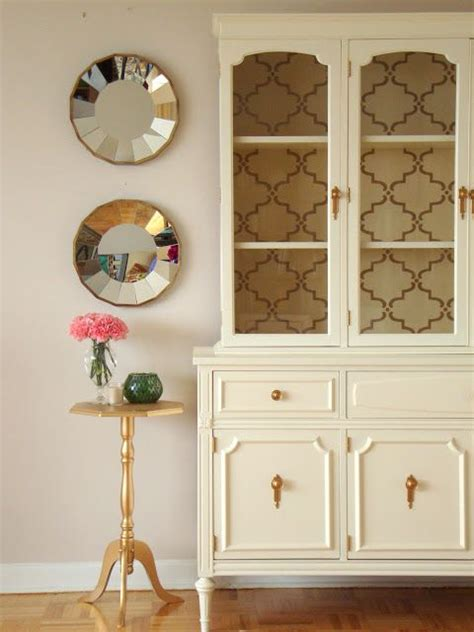 Dining Room Hutch Diy Diy Hutch Makeover Paint Wallpaper My Future Home