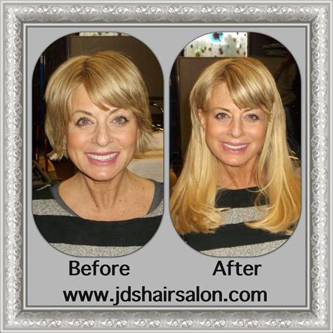 hair fusion applied to short hair before and after before and after pictures of hair extensions before