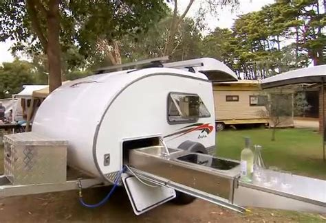 ultra light travel trailers with outdoor kitchens top 10 lightweight travel trailers for small cars