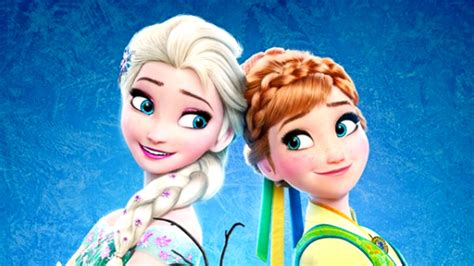 film elsa dan ana melahirkan elsa anna frozen fever movie time youtube