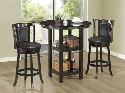 Pub Table With Nesting Stools by Pub Table With Nesting Stools Regarding Pub