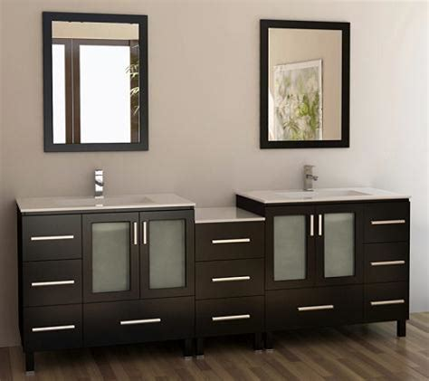 bathroom vanity brands top five bathroom vanity brands for a large master bathroom