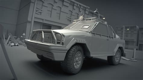 tutorial blender modeling car modeling a post apocalyptic vehicle cg cookie