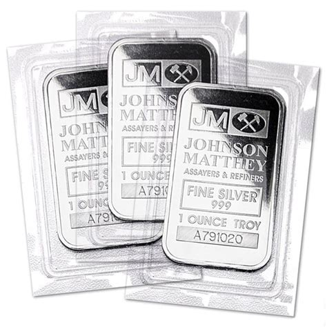 1 Ounce Silver Bar - 1 oz silver bars for sale johnson matthey silver bar