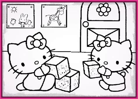dibujos de navidad para pintar e imprimir dibujos de la dibujos para colorear e imprimir de hello kitty muy