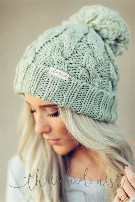 how to make a knit beanie cottageartcreations