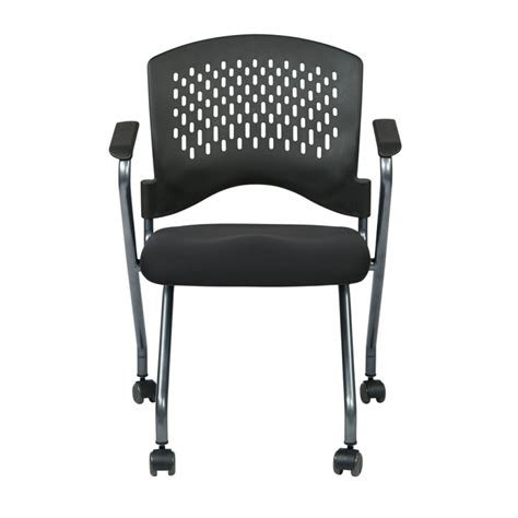 osp office furniture osp deluxe folding chair 2 pack atwork office furniture