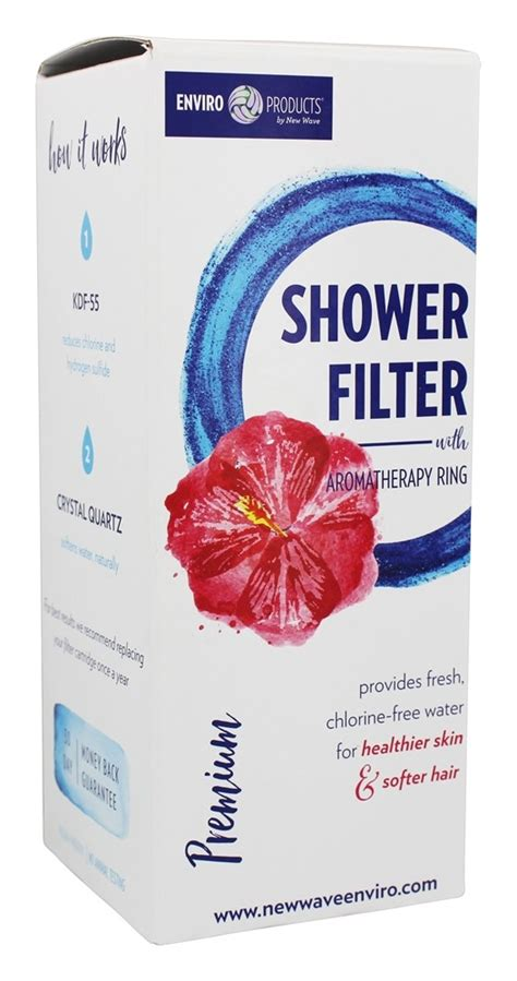 New Wave Enviro Shower Filter by Buy New Wave Enviro Products Premium Shower Filter At
