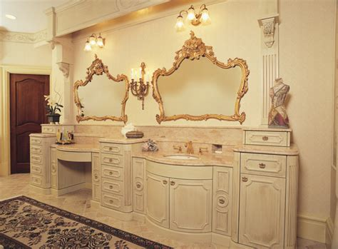fancy vanity fancy glazed painted bathroom vanity