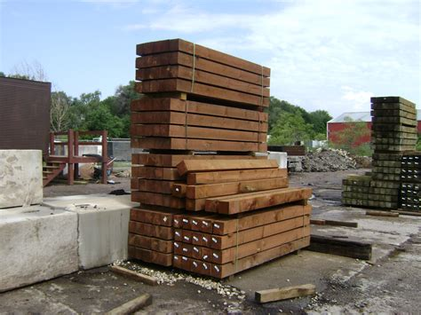 Landscape Timbers For Ground Contact Railroad Ties Landscaping Roselawnlutheran