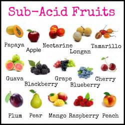 sub acid fruit archives happy to be raw