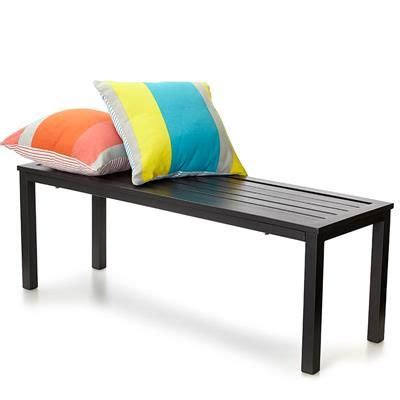 kmart outdoor bench image for metal bench seat from kmart my new house