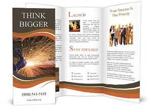 welding templates free welding brochure template design id 0000007167