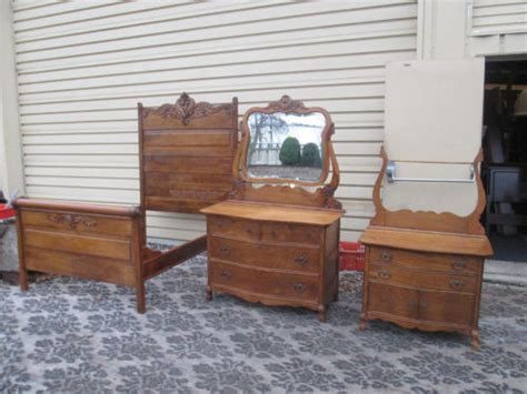 oak bedroom sets for sale antique oak victorian bedroom set for sale