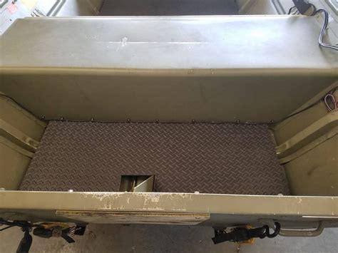 jon boat rubber flooring jon boat floor mat waterfowl boats motors boat blinds