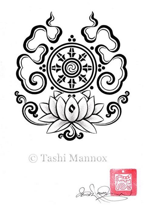lotus tattoo designs click here the wheel of dharma the original buddhist symbol