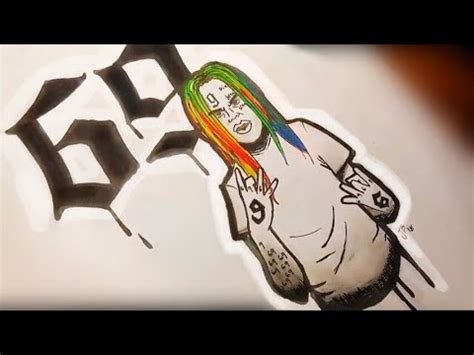 Drawing 6ix9ine by Access