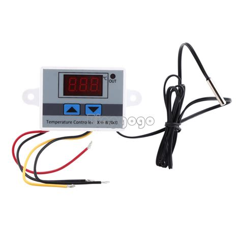 Xh W3001 Temperature Controller Digital Thermostat 220v 10a ac 220v 10a led digital temperature controller thermostat