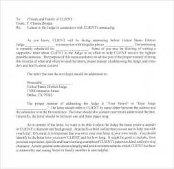 sle character letter for court templates 8