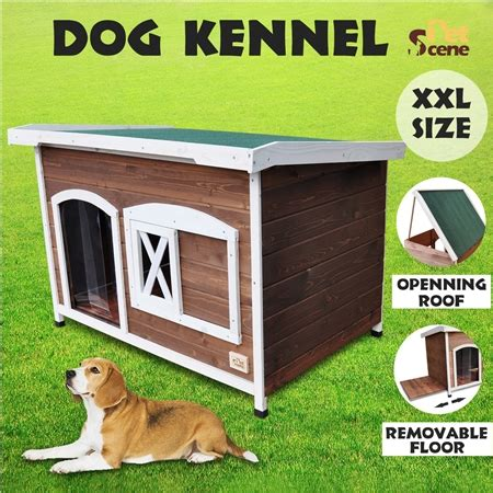xl dog house for sale extra large flat roof wooden dog house kennel crazy sales