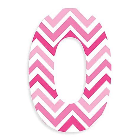 Chevron Baby Bedding Stupell Industries Tri Pink Chevron 18 Inch Hanging Letter