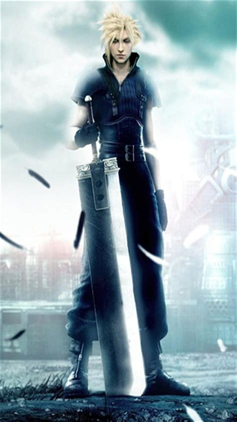Wallpaper Iphone 5 Final Fantasy | final fantasy vii and cloud game iphone wallpapers iphone