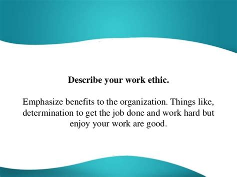 how to describe work ethic in a resume computer repair