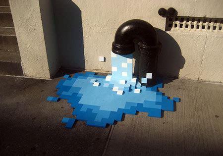 pixel graffiti