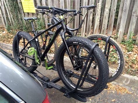 Bike Rack Reviews by Review Inno Racks Versatile Tire Hold Hitch Mount Bike Rack Bikerumor