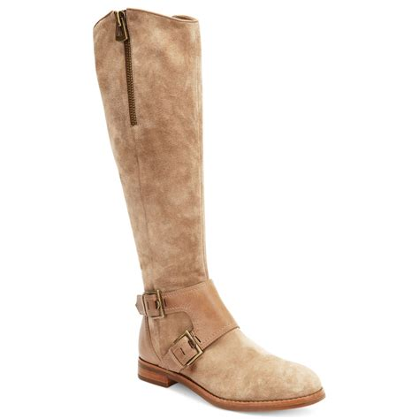 joan and david boots joan david heathley boots in brown taupe