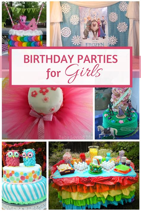 birthday themes ideas for girl 10 birthday party ideas for girls saving mamasita