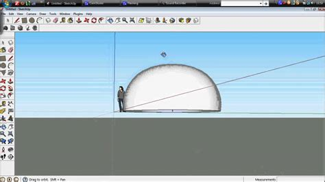 vray dome sketchup tutorial sketchup tutorial making a dome using the follow me tool