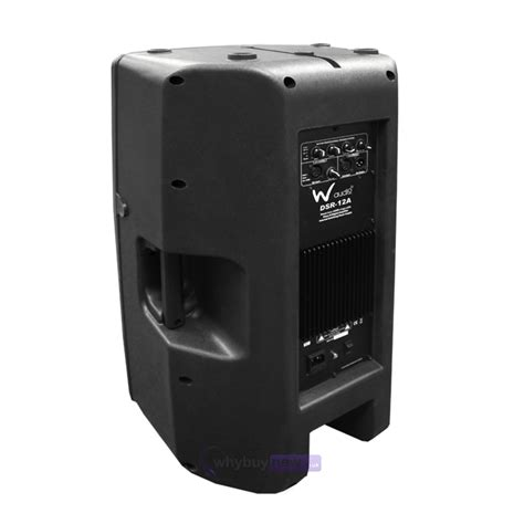 W Audio Active Speakers by W Audio Dsr 12a Active Speaker