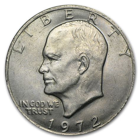 specifications eisenhower silver dollars 1972 clad eisenhower dollar bu eisenhower dollars 1971 1978 apmex