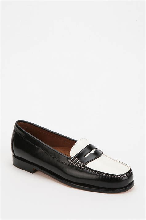 bass wayfarer loafer outfitters bass wayfarer twotone loafer in