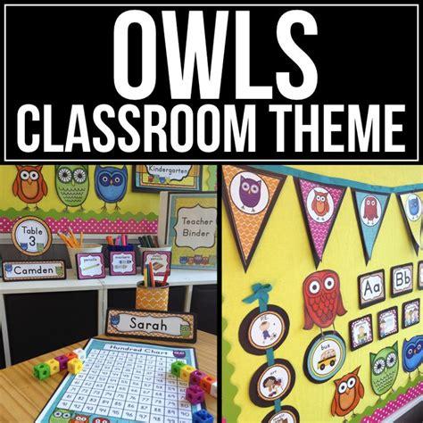 104 Best Owls Images On Owl Classroom Ideas - 72 best owl classroom theme ideas and decor images on