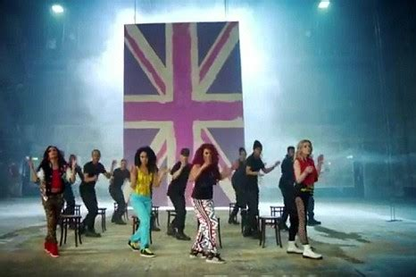 dance tutorial wings little mix little mix show off their dance moves in colourful wings