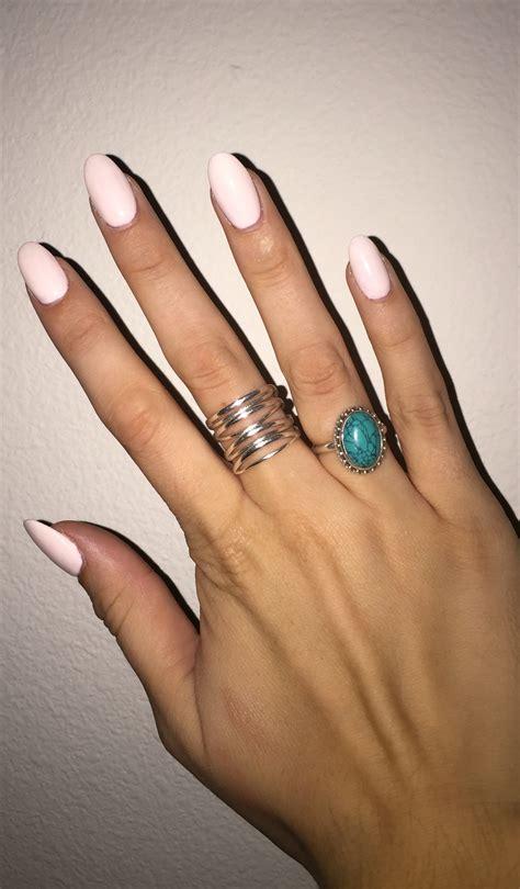 Acrylic Nails by Light Pink Acrylic Nails