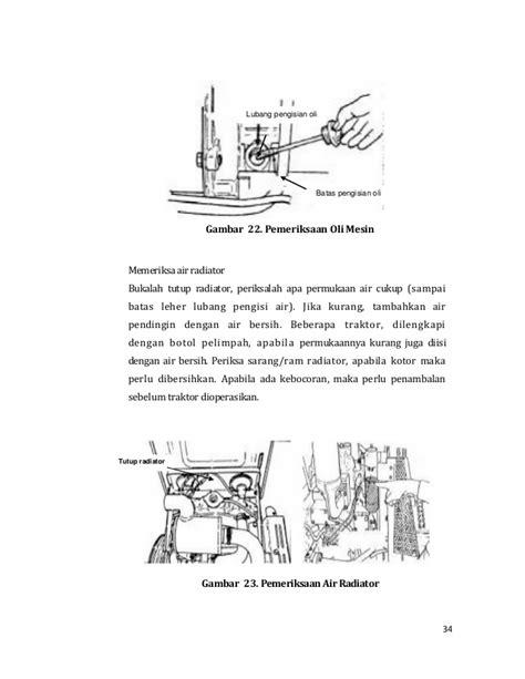 Botol Radiator alat mesin pertanian