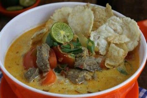 resep soto daging kuah santan  bumbu soto daging santan
