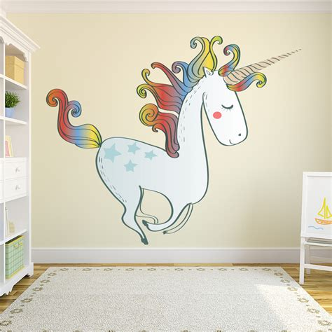 nursery wall stickers ebay large unicorn wall sticker nursery wall decal