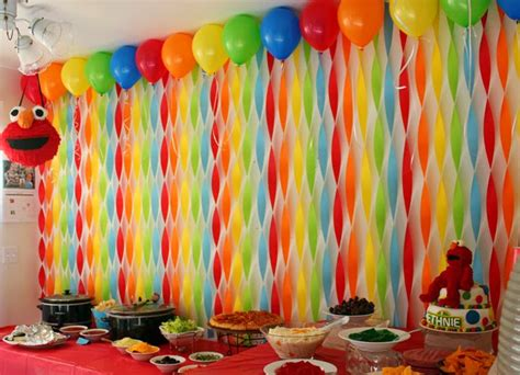 Birthday Decorations With Crepe Paper by Simple And Cool Decoration Ideas Using Paper