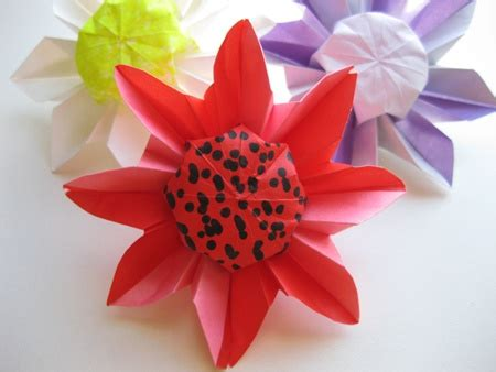 Origami Daisies - origami daisies http www origami